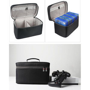 Image 5 - Large Capacity CD Discs Storage Bag for Xbox One PS4 /PS4 PRO Game Disc Carrying Case Travel Portable Storage Cover Case Box