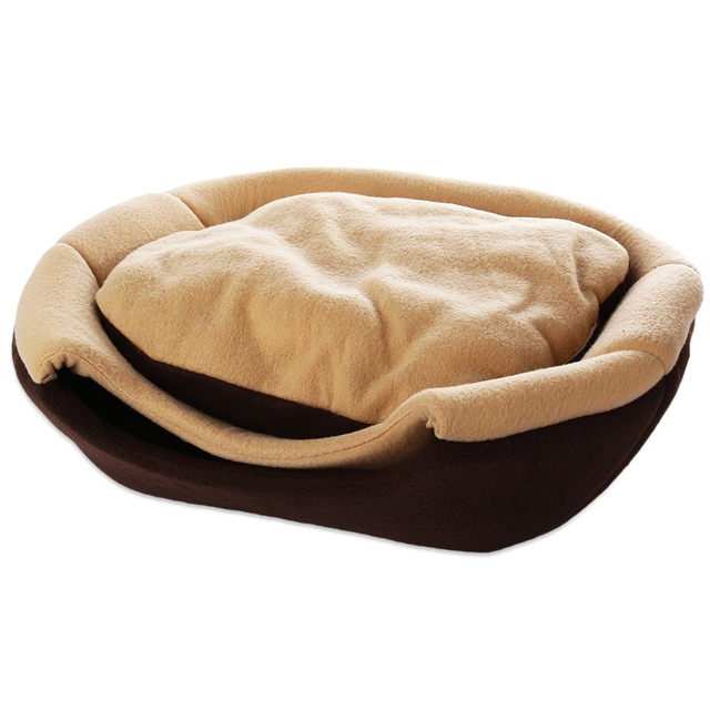 2017 Original Luxury Pet Kennel 2 Color Dog Bed Soft Puppy Cushion Cat Bed Pet Bed For Dogs Pet House Free Shipping