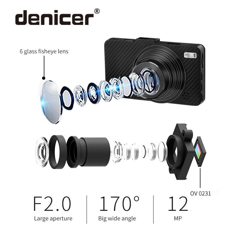 Denicer フル Hd 1080P 車 Dvr 3.0 インチ画面の Dvr Registrator 170 度広角ダッシュカムデジタルビデオレコーダービデオカメラ  グループ上の 自動車 &バイク からの DVR/ダッシュカメラ の中 3