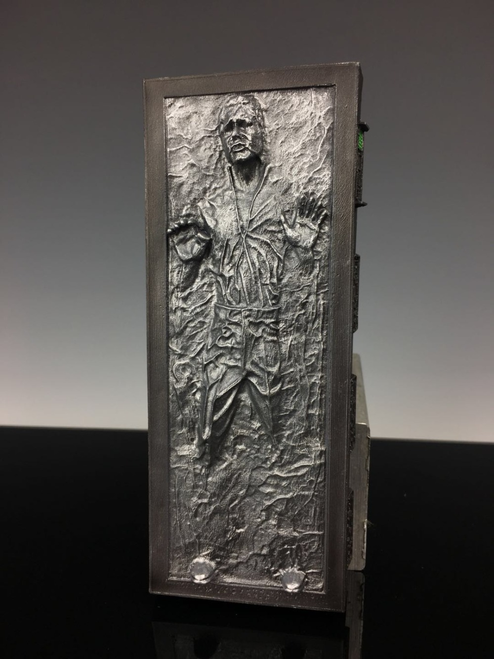 NEW Classic Resin Models Star Wars SDCC Han Solo Carbonite 6 Black Series Figure scuba dive light