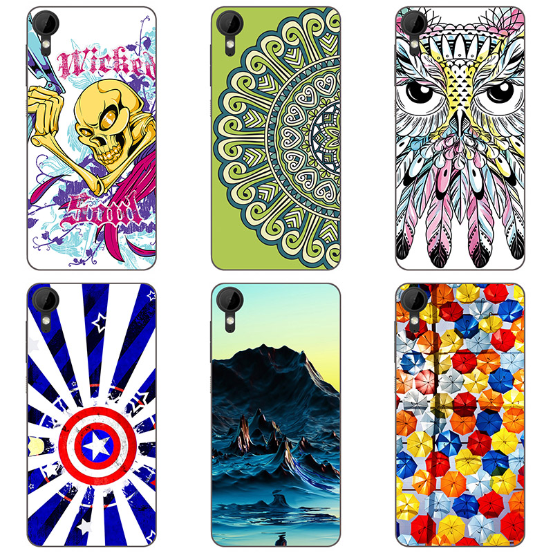 Hard plastic cases For HTC Desire 825 colour Mobile phone shell For HTC Desire D825 Hard Phone Case colorful painting skin shell