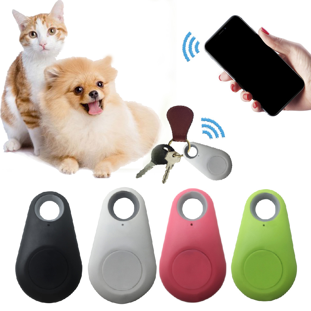 Pets Smart Mini GPS Tracker With Battery Anti-Lost Waterproof Bluetooth Tracer Keys Wallet Bag Kids Trackers Finder Equipments