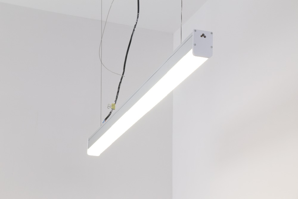 2018 New Product 1200mm 1500mm 40w 50w  LED Linear Pendant Lamp with suspended cable and connectors 3 years warranty