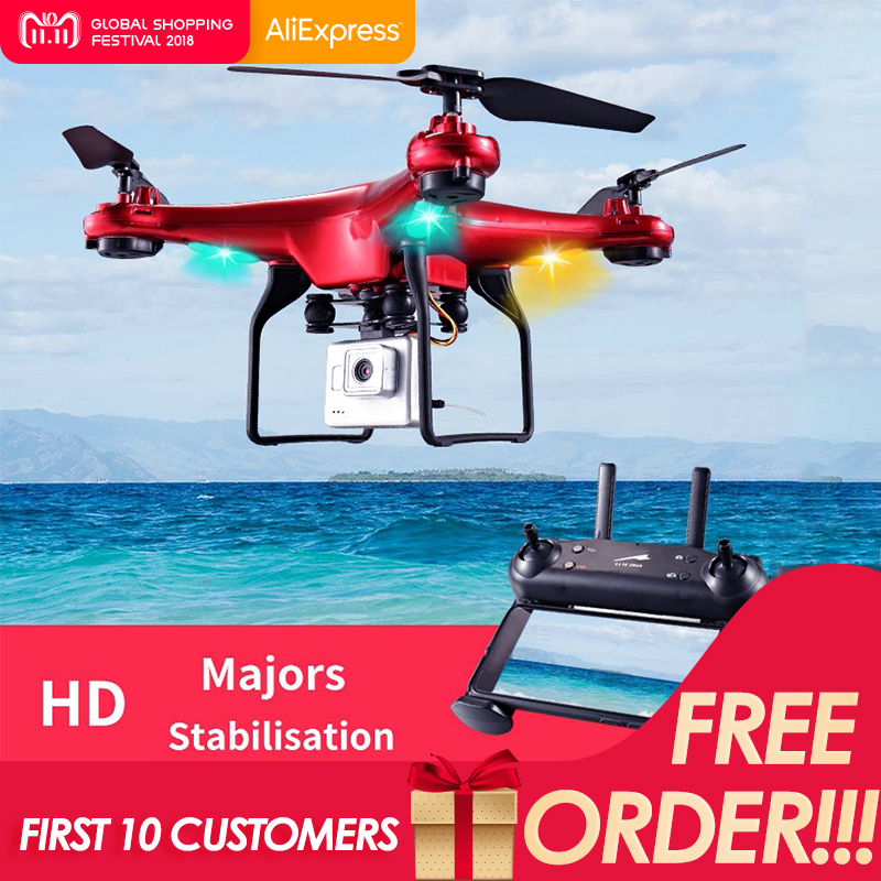 DM006 Six-axis Fixed Four-axis Aircraft RC Drone 6-Axis Remote Control Helicopter Quadcopter With 2MP HD Camera Or X5 R baseus shield case tpu cover for iphone7 gray