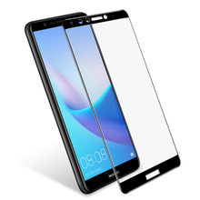 3D Full Cover 9H Tempered For Huawei Y9 Prime Glass For glass Screen Protector(China)