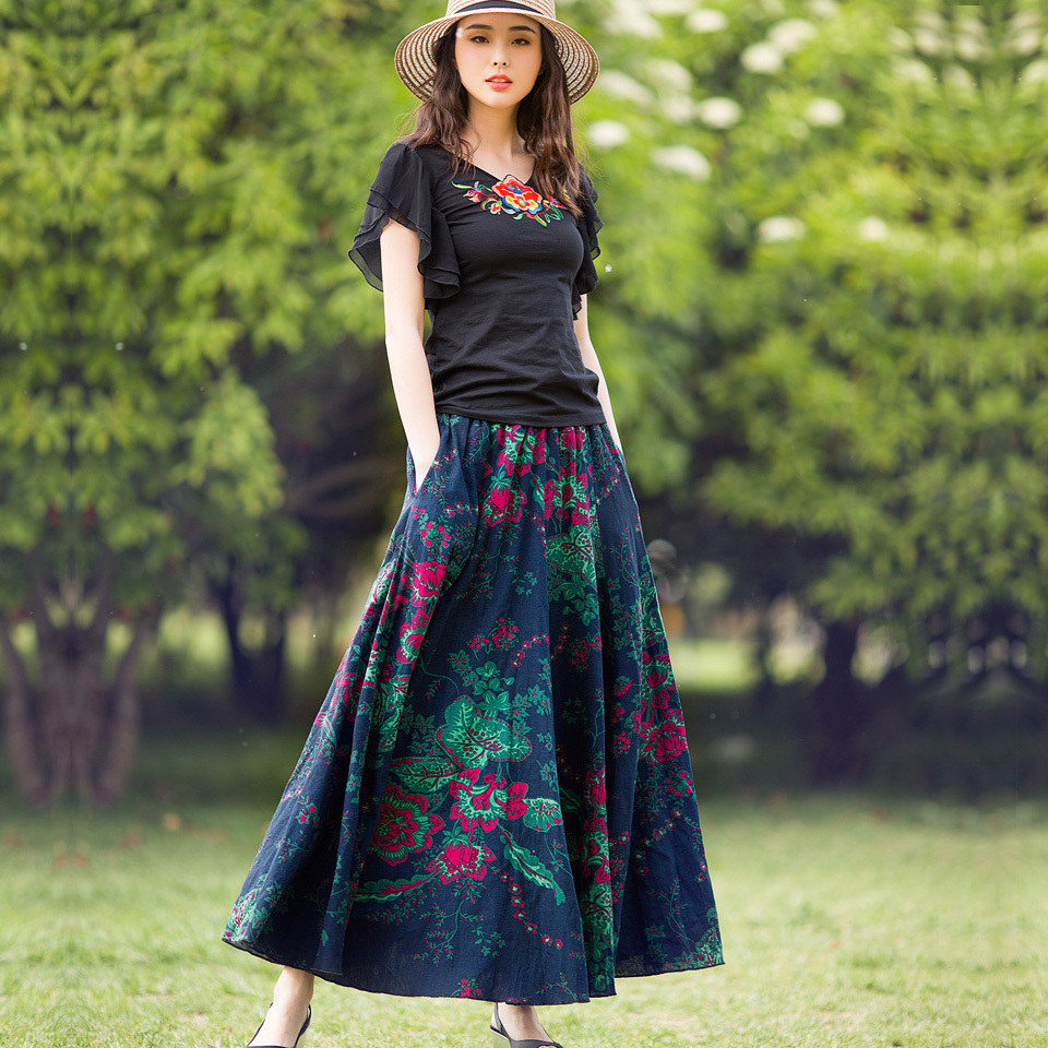 Popular Casual Long Skirts-Buy Cheap Casual Long Skirts lots from ...