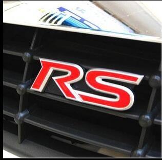 car the RS logo Fashion styling car goods for AUDI a1 a3 a4L a4 a5 a6 b8 c5 c6 b7 a6L a7 a8L S5 S a8 S8 Q3 Q5 Q7 SQ5 Q1 TT