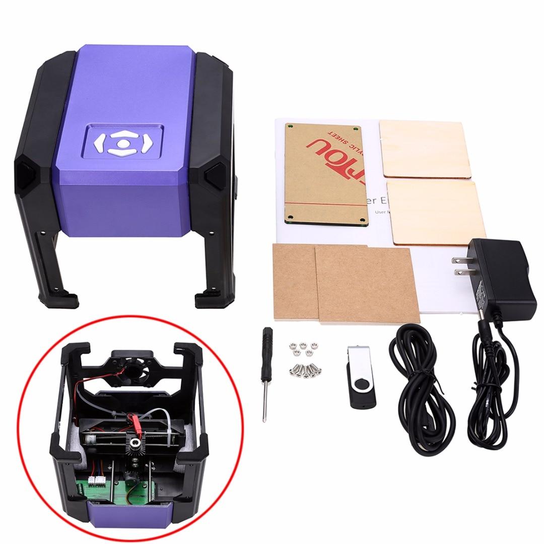 1500mW USB Desktop Laser Engraver CNC Printer Cutter Carver DIY Mark Engraving Machine for Carving Wood Plastic Leather цены