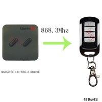 High Quality Copy MARANTEC 131 868 3mhz Remote Control For Garage Door
