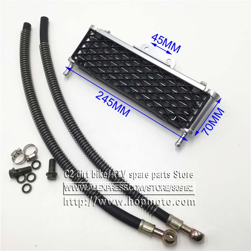 Oliekoelerradiator Dirt Pit Bike Monkey Racing Motorcyle High performance refires accessories Kayo BSE Gratis verzending