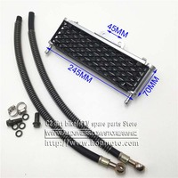 Oil Cooler Radiator Dirt Pit Bike Monkey Racing Motorcyle High Performance Refires Accessories Kayo BSE Free