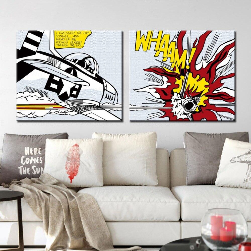 Lichtenstein Living Room Print