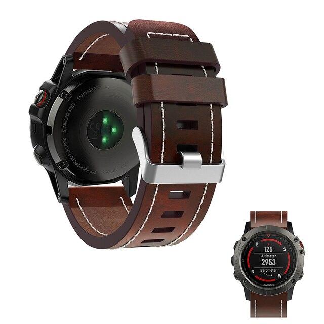 Aliexpress Com Buy Fivstr Leather Watch Band Wrist Strap For