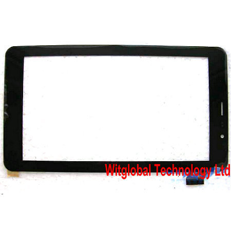 Original New 7 teXet TM-7058 X-pad STYLE 7.1 3G Tablet touch screen Digitizer Touch panel Glass Sensor Replacement FreeShipping new touch screen touch panel glass digitizer replacement for 7 texet x pad navi 7 3g tm 7059 tablet free shipping