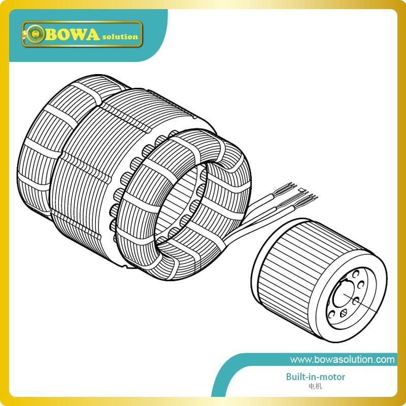 B6 11KW(15HP) freon motor for refrigeration compressor 5 pcs qdzh35g r134a 12v cooling compressor for marine refrigeration unit