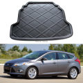1 Piece Black Rear Boot Pad Reserve tank Mat fit for Ford Focus 3 III 2012-2014 Hatchback