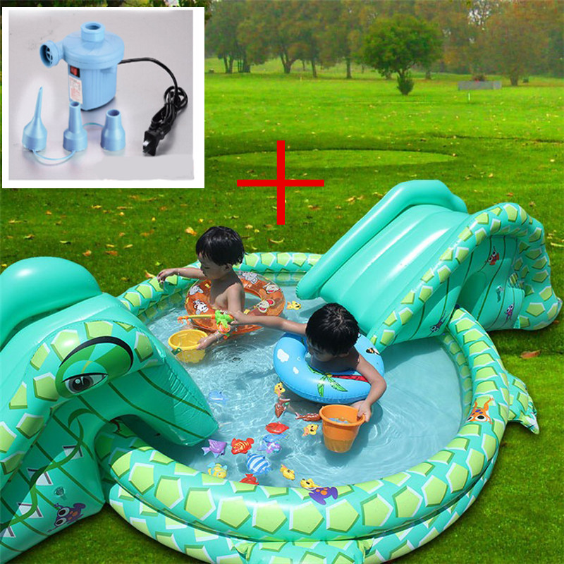 2 pcs swimming pool pump multi function large size outdoor for Large size inflatable swimming pool