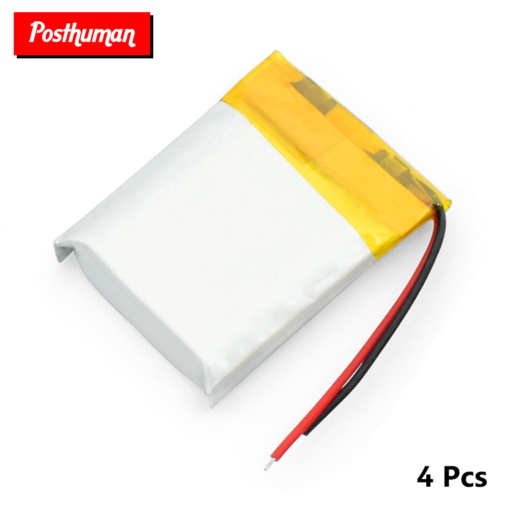 For PSP Smart Watch LED Lamps Bluetooth Speakers Mini Cameras3.7V Rechargeable Li-polymer 200mah 052025 <font><b>502025</b></font> <font><b>Battery</b></font> image