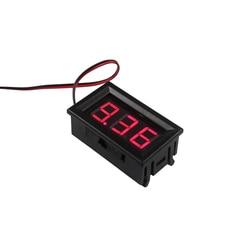 LED Digital Voltímetro Voltímetro com Proteção Reversa da Conexão Mini Cabos 2 DC4.5V-30.0V 0.56 polegada