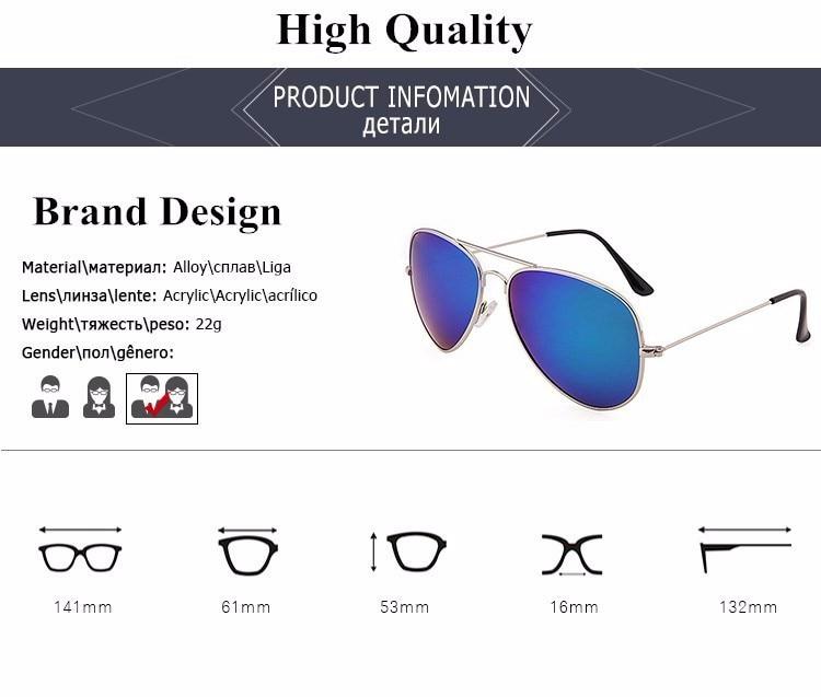Fashion Aviator Sunglasses Women Men Brand Designer Male Sun Glasses For Women Lady Sunglass Female Mirror Glasses oculos de sol (10)