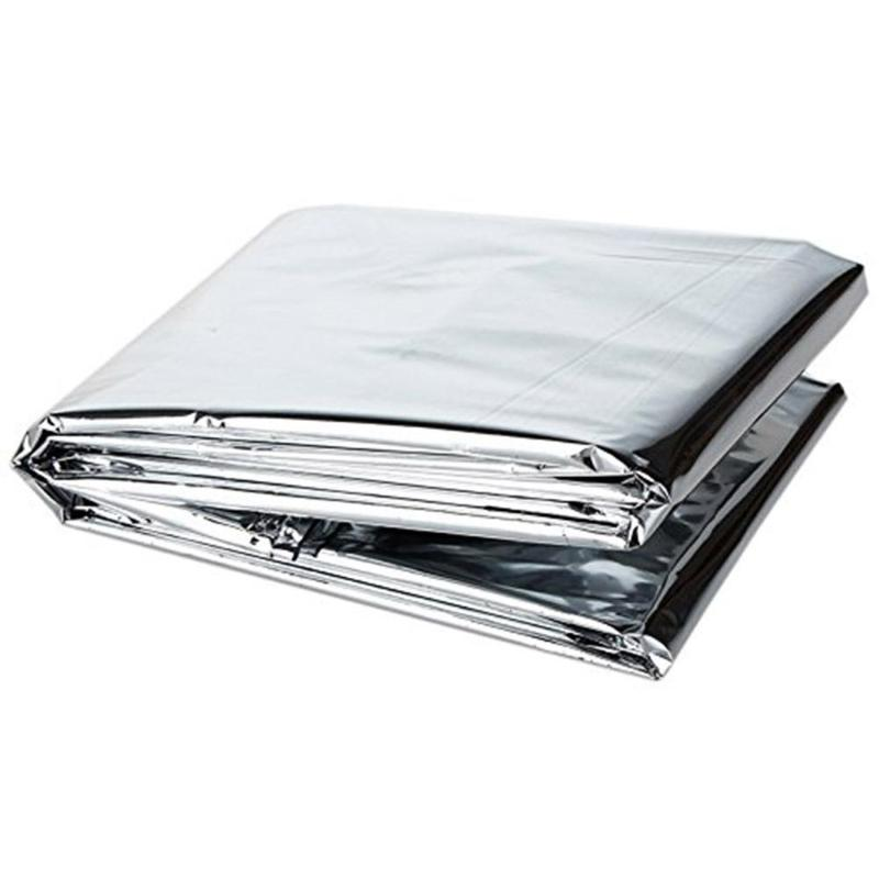 Greenhouse Reflective Film Plants Garden Covering Foil Sheets Survival Emergency Warm Blanket 210x120cm Plant Grow Accessory