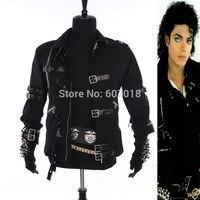 Nadir MJ Michael Jackson Siyah Pamuk Elastik Ince Adam Tapıyorum için KÖTÜ Ceket Kostüm Giyim Yıldızlar
