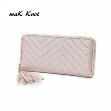 women wallet high quality leather tassel women purse card holder Carteira Feminina Wallets Lady Vintage Clutch Bag