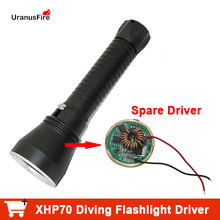 1PC LED Diving Flaslight Driver 8.4v Powerful Stepless Dimming Driver For XHP70 XHP70.2 LED FlashLight torch Lamp Bulb(China)