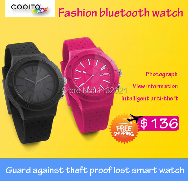 US $136 0  Cogito pop Bluethooth smart watch wearable electronic device  Smart Tracker for ipad iphone Android4 3 /SAMSUNG Galaxy/HTC-in Smart  Watches