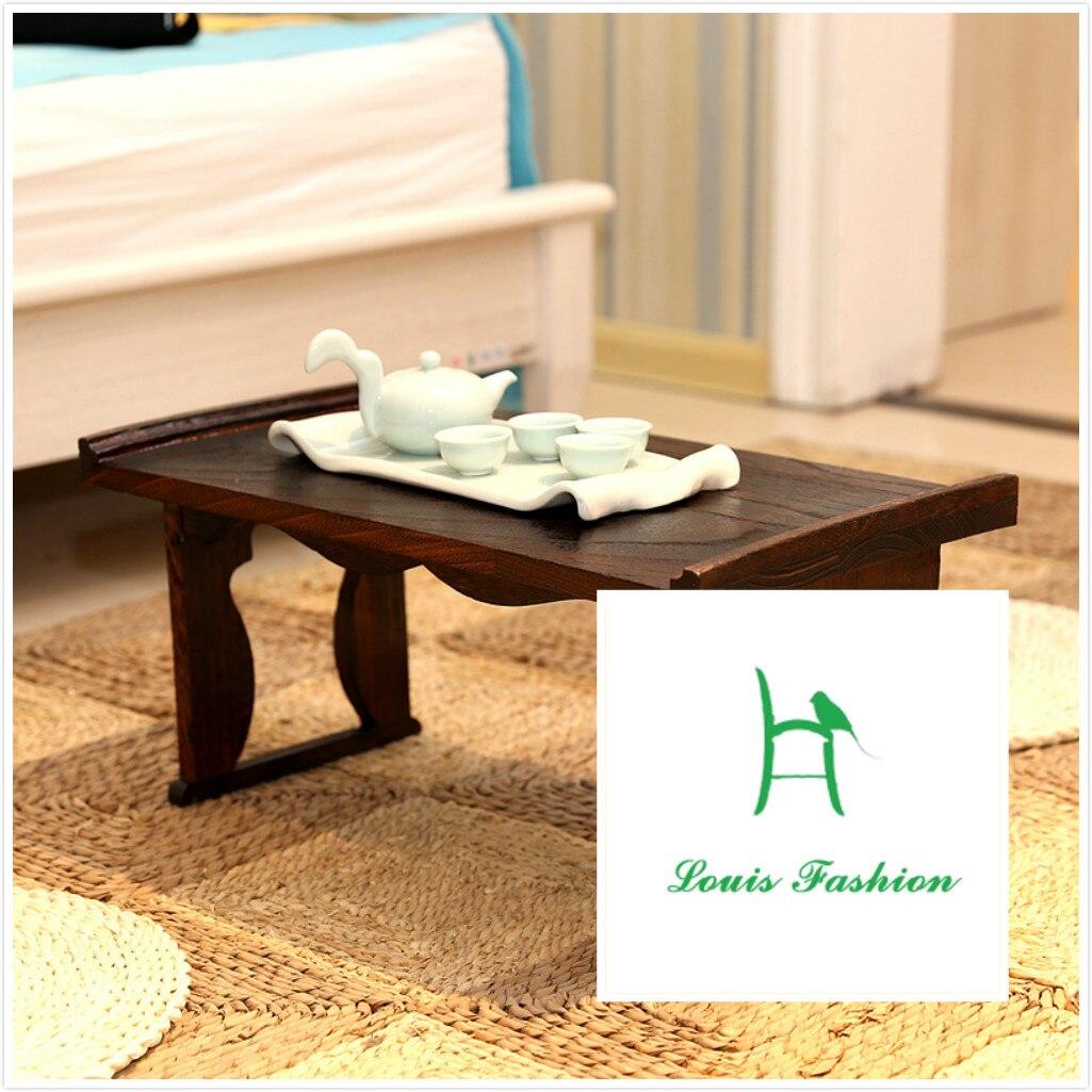 Shipping japanese tatami folding small tea table real kung fu tea table table small tea table