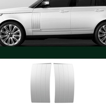 Car Chromium Auto Modified Body Exterior Dashing Sticker Strip Protecter Parts Accessories 14 15 16 17 18 19 FOR Range Rover modified decorative chromium body window grille exterior dashing mouldings sticker strip protecter 18 19 for volkswagen t roc