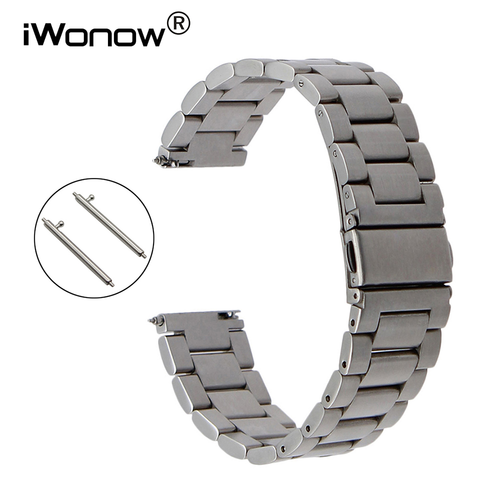 Quick Release Stainless Steel Watch Band for Tissot T035 <font><b>PRC</b></font> <font><b>200</b></font> Longines Mido Omega Watchband Strap 18mm 20mm 22mm 23mm 24mm image
