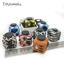 Original Fidget Cube EDC Spinner Toy with Case Anti Stress Desk Camouflage AntiStress Vent Toys