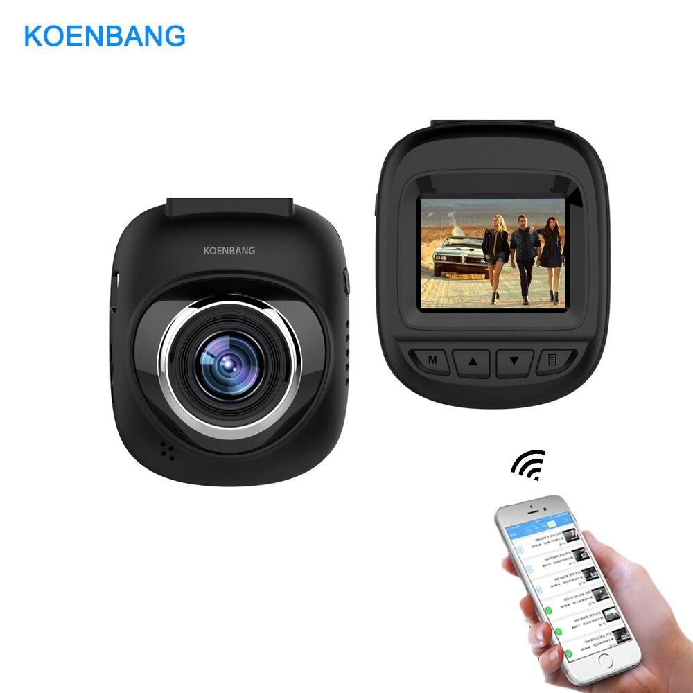 KOENBANG 1.5 ''Voiture DVR Dvr Registrator Dash Caméra Cam Enregistreur Vidéo Numérique Caméscope 1080 P Nuit Version 96658 IMX 323 WiFi