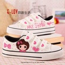 Дівчата кросівки навесні 2018 року новий дитячий дитячий дитина білий повсякденне м'яке плоскі черевики діти chaussure enfant