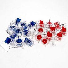 20) Agua/Medidor Eléctrico Sello Sello Sello De Plomo Anti-robo Sin Botón De Alambre Forma