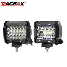 LED Work lights Headlight 4 inch Bar Flood Spot Combo Beam Motorbike Extra Lamp Headlamp 12V 24V for JEEP Truck ATV UTV UAZ