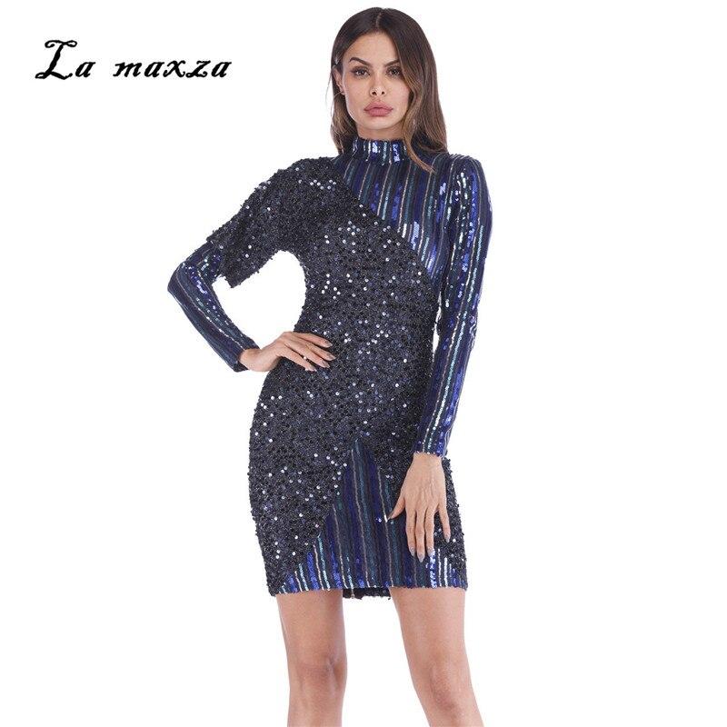 cdff9dd7abc1 Vintage À Femmes Night 2019 Taille Paillettes Mini Plus Robes Sexy  Fermetures La D été Party Moulante Robe ...