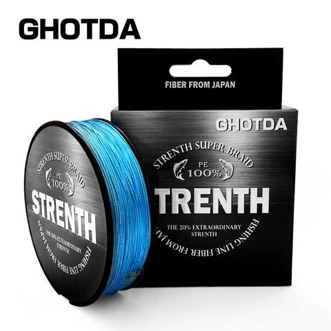 ghotda 9 8 4 fios linhas de pesca trancada pe 100 m 4 8 vertente