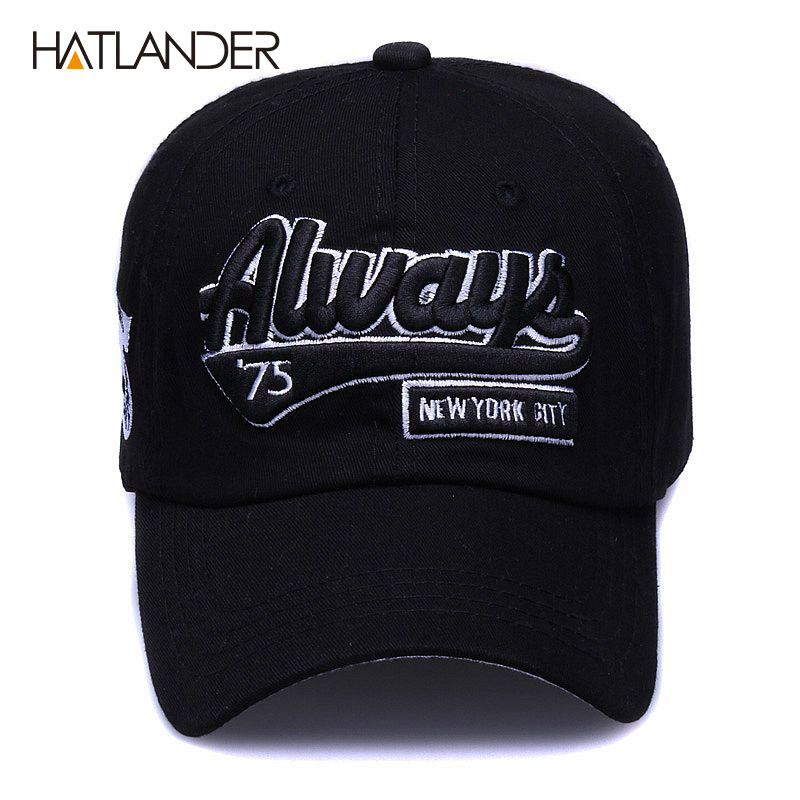 5f92a4a806051  HATLANDER Vintage 6panels cotton baseball caps women snapback casquette  curved dad hat sun cap