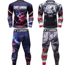 Mma Rashguard Bjj Men T-shirt Muay thai Shorts Breathable MMA Boxing Jerseys GI jiu jitsu Kickboxing Pants Sport Suits