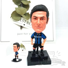 Soccerwe font b dolls b font figurine Sports stars J ZANETTI 4 2018 Movable joints resin