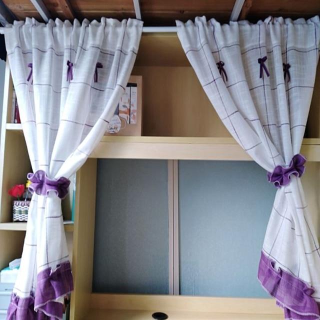 Romantico Dolce Del Merletto Giardino di Casa Schermi Mezza Caffè Tenda Cucina a prova di Polvere Tende Balcone Wc Pritition Curtain-DL013 #4
