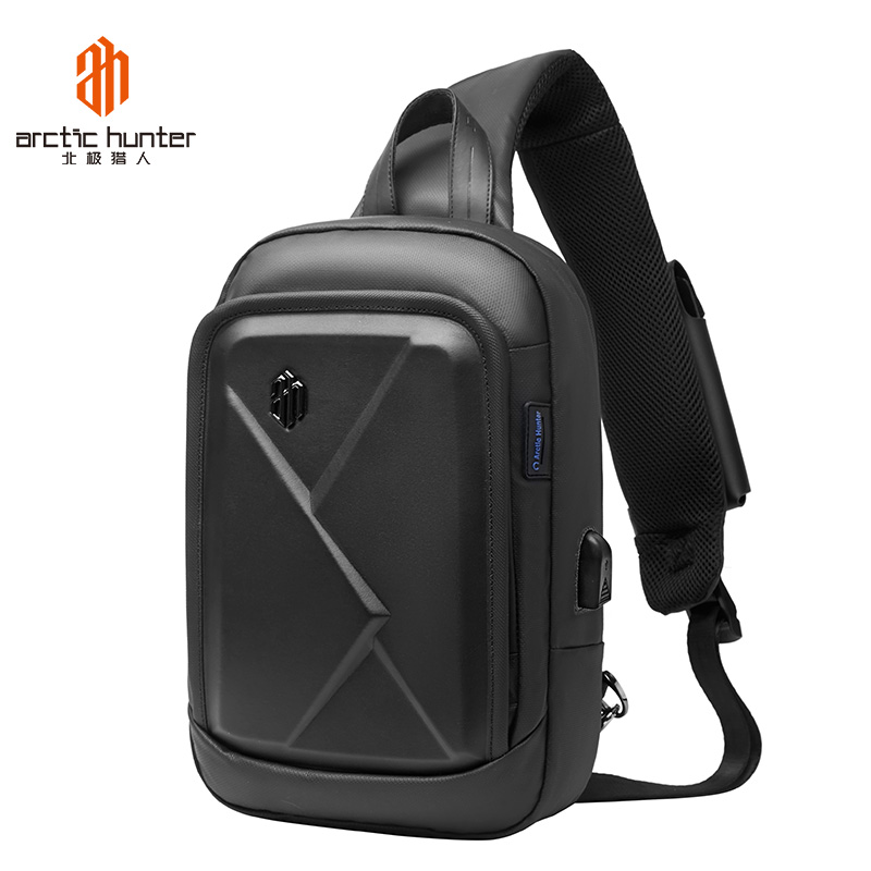 Fashion Designers Men S Square Chest Bag With Usb Charge Port Messenger Bags Waterproof Business Travel Small Shoulder Bag Aliexpress
