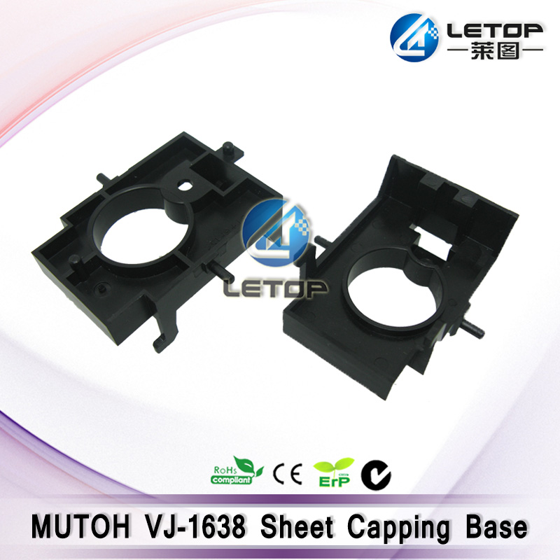 inkjet printer sheet capping base for mutoh 1638 machine mutoh vj 1604w rj 900c water based pump capping assembly solvent printers