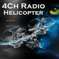Novo Design RC Helicóptero Aeronave Quadcopter Aeronaves de Grande Porte Modelo de Controle Remoto de Quatro Canais YD-711 Avatar/718/713 Com caixa