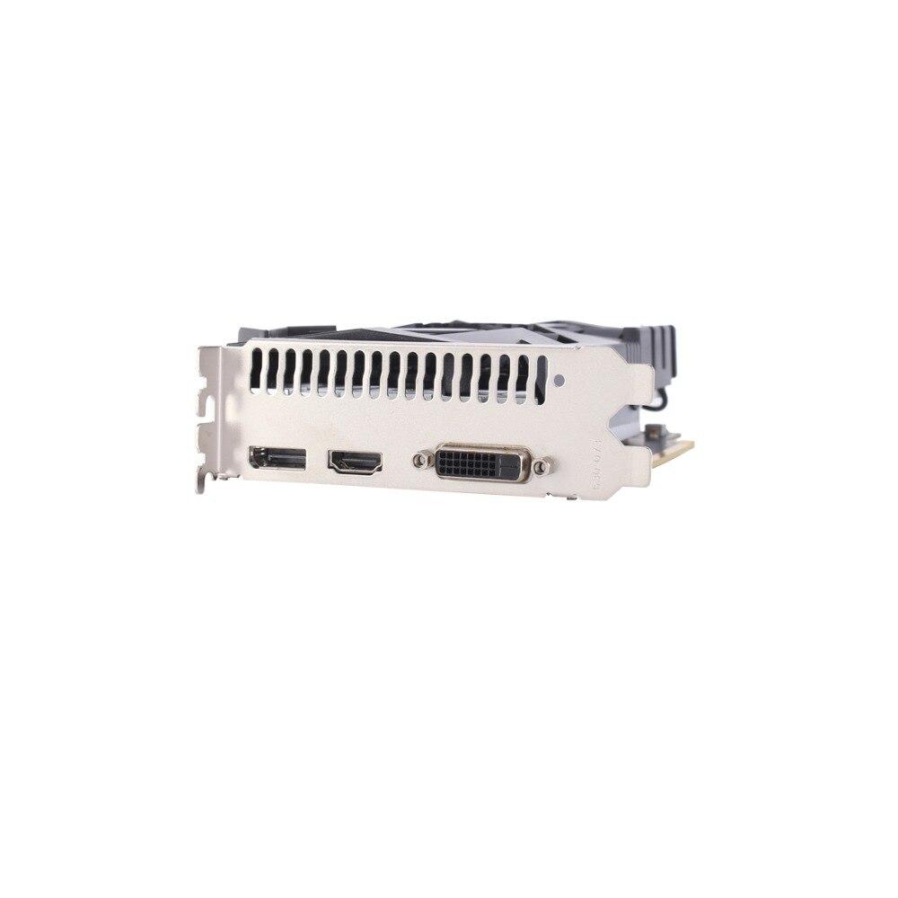 Carte vidéo VEINEDA pour carte graphique d'ordinateur PCI-E GTX1050Ti GPU 4G DDR5 pour jeu nVIDIA Geforce - 6