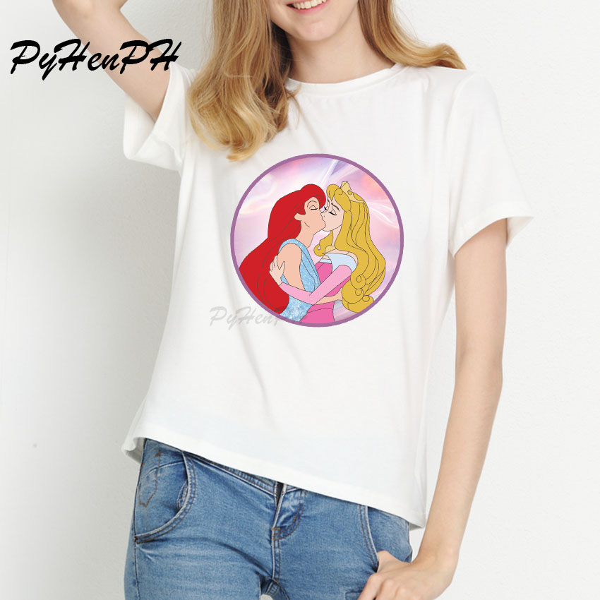 Lgbt <font><b>t</b></font> <font><b>shirt</b></font> Love Wins Female <font><b>Bisexual</b></font> Lesbian Gay love is love women Princess Prince top <font><b>t</b></font>-<font><b>shirt</b></font> tshirt tee kawaii femme <font><b>shirts</b></font> image