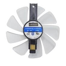 95 мм CF1015H12D Шестерня светодиодный вентилятор кулер Замена для Sapphire NITRO RX580 RX570 RX480 RX470 4N001-02-20G вентиляторы для видеокарт