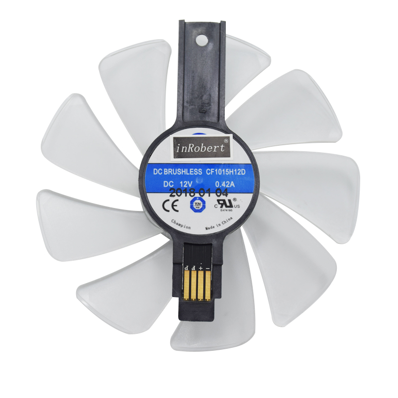 95mm CF1015H12D Graphics Card Cooler Fan for Sapphire NITRO RX480 RX470 8G